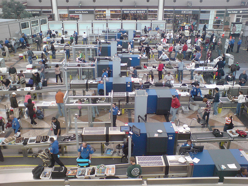 Denver Airport Security (Creative Commons)