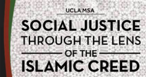 Halaqa Recap: Social Justice In Our Islamic Creed
