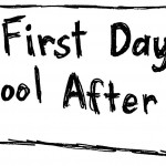 The First Day of School after Eid