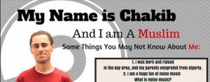 My Name is Chakib
