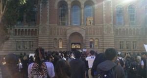Hundreds Rally at UCLA in Solidarity with Mizzou