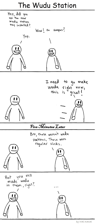 wudu station comic